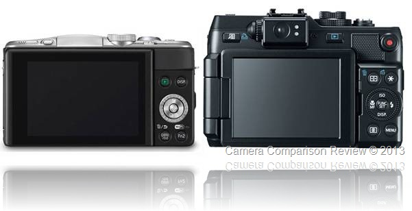 Panasonic Lumix DMC-GF6 vs Canon Power Shot G1X