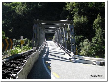 Gates of Haast bridge.