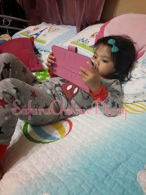 Princess Pandai dah tengok youtube