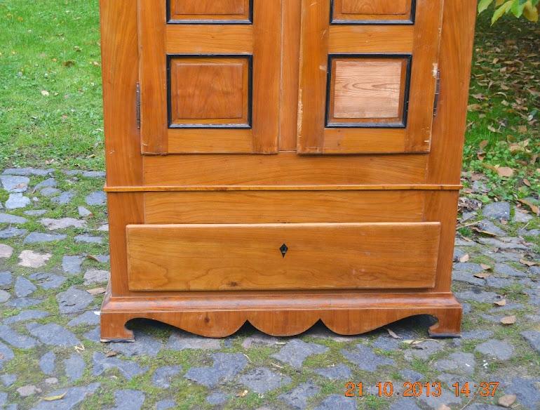 schrank kleiderschrank w scheschrank zum restaurieren biedermeier vers m glic ebay. Black Bedroom Furniture Sets. Home Design Ideas