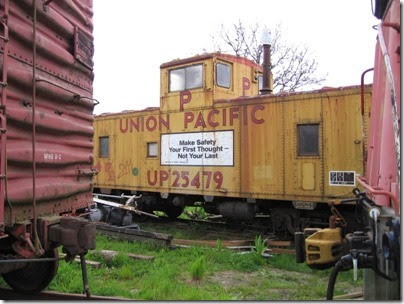IMG_6450 Union Pacific Caboose #25479 at Chehalis on May 12, 2007
