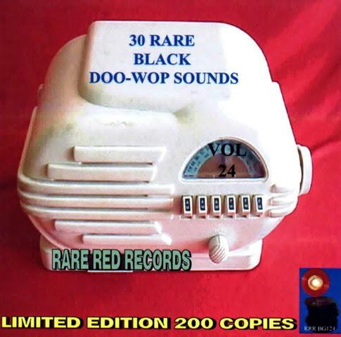 Rare Black Doo-Wop Sounds Vol. 24 - 31 - Front