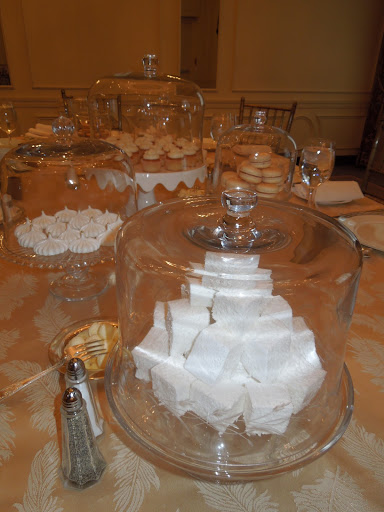 The homemade marshmallows were a favorite of our guests.