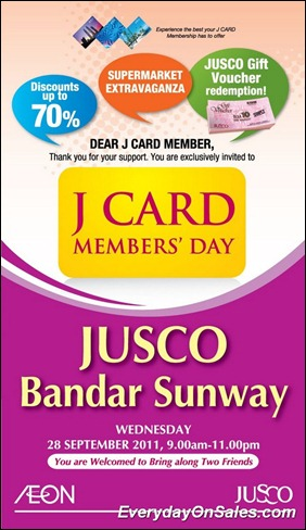 Jusco-J-Card-Member-day-Bandar-Sunway-2011-EverydayOnSales-Warehouse-Sale-Promotion-Deal-Discount