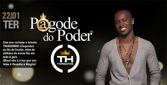 Thiaguinho no Club A em São Paulo