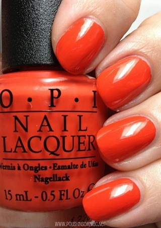 OPI My Paprika is Hotter Than Yours!