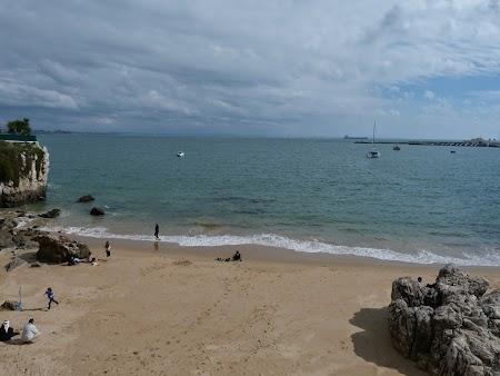 13. Plaja la Cascais.JPG