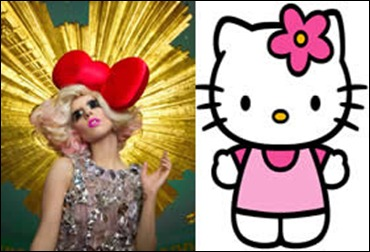 Lady Gaga e Hello Kitty
