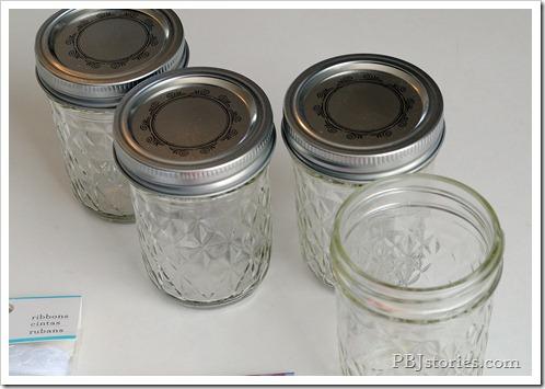 Small mason jars