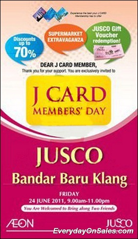 J-Card-Members-Day-Klang-2011-EverydayOnSales-Warehouse-Sale-Promotion-Deal-Discount