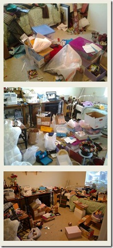 craft room clean up