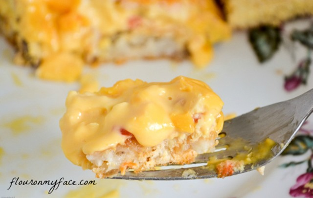 Velveeta-Breakfast-Casserole-Serving-1