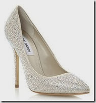 Steve Madden Embellished Court Shoe