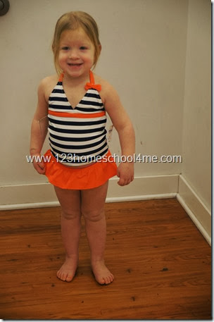 Cutest swim suite ever from OshKosh B'gosh Nautical Spring Line
