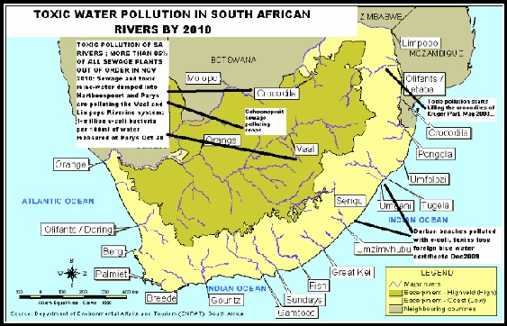WaterPollutionSouthAfricanRiverSystems