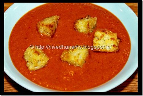 Creamless Cream of Tomato Soup - IMG_9408
