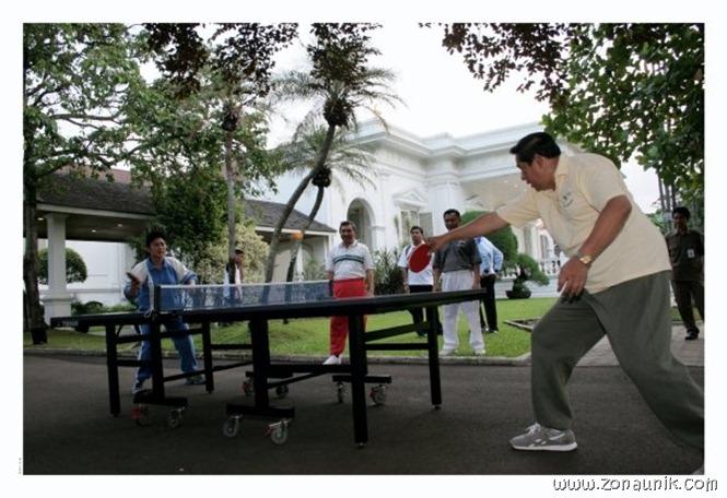 foto keseharian Presiden Indonesia Susilo Bambang Yudhoyono (10)