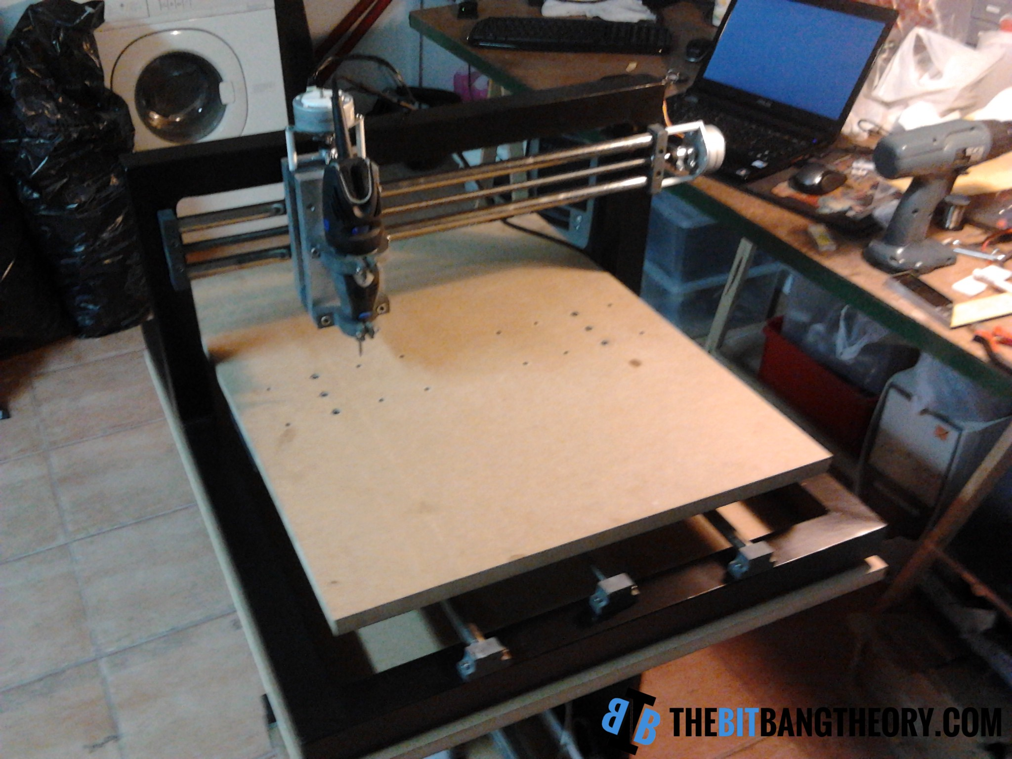 Front view of TheMaker2 CNC