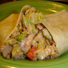 Santa Fe Chicken Salad Wraps