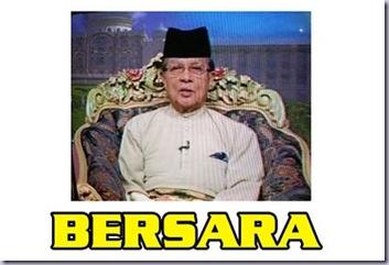 mohor besar YM Engku Tan Sri Ibrahim Engku Ngah bersara