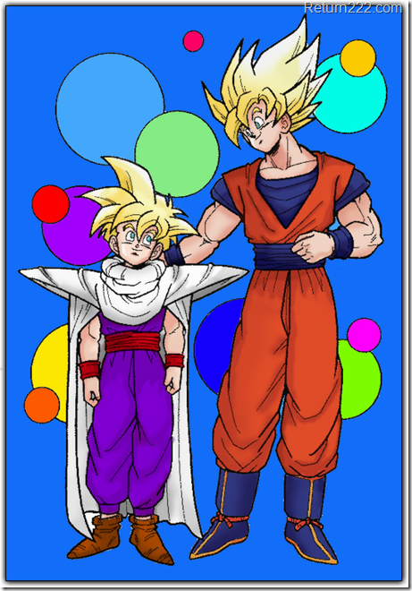 Gohan_and_Goku_by_jamesy1991