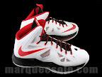 nike lebron 10 gr miami heat home 1 03 Release Reminder: Nike LeBron X MIAMI HEAT Home