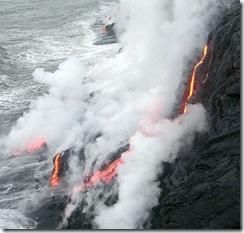 ハワイ島 溶岩 火山