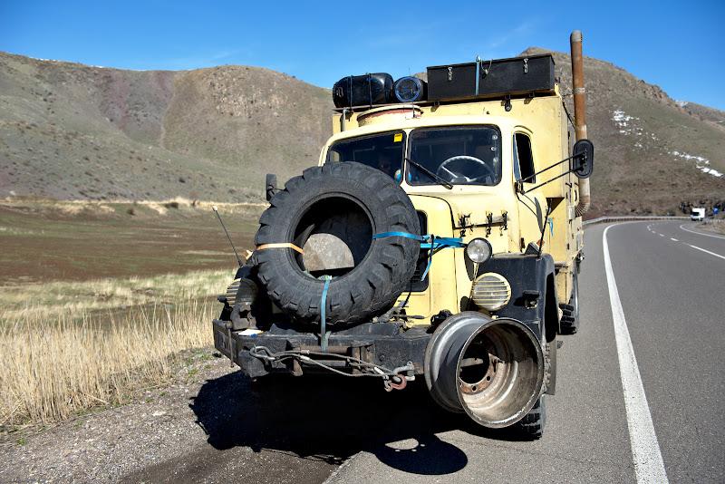 Bestiuta ce mananca 24 de litri de motorina pe suta de kilometri.