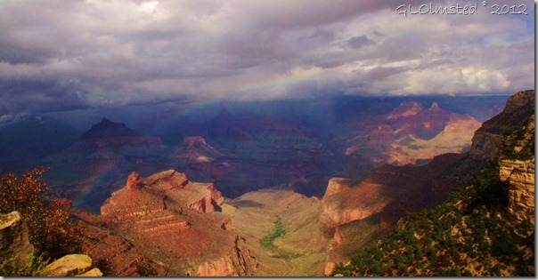 07 Storm &amp; rainbow over canyon SR GRCA NP AZ pano (1024x530)