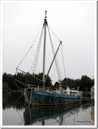 Clinker built vessels similar to the Portland used to ply their trade along the Catlins coast and rivers.