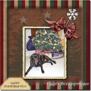 Gabby Christmas 2010