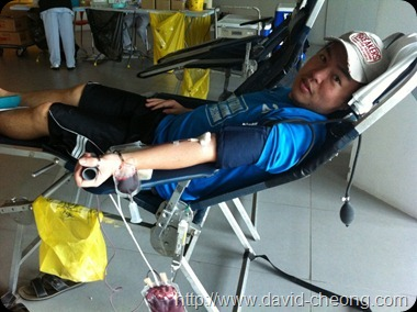 Blood donation at SPark