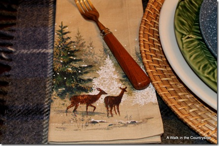 A Walk in the Countryside: Winter Tablescape