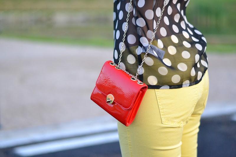 New Look, New Look Bag, Mango, Mango Yellow Pants