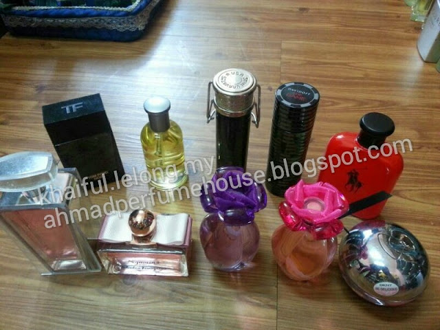 Stok original reject perfume yg best
