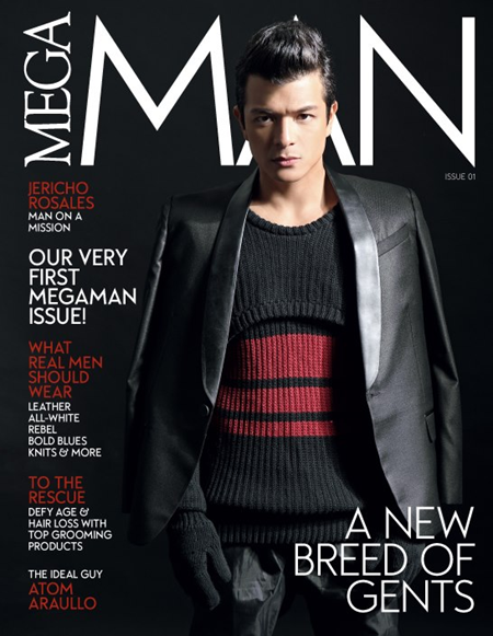 Jericho Rosales on the cover of Mega Man's first issue