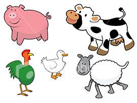 Ggslz 7qcfo ist2 1618956 cartoon style farm animals vector jpeg
