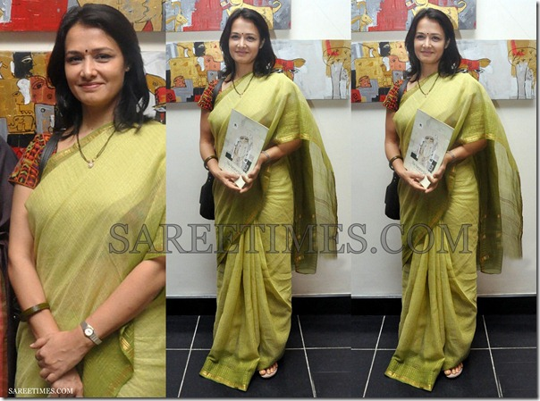 Amala_Green_Cotton_Saree