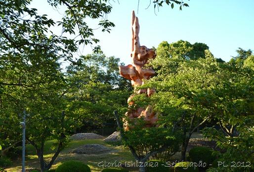 Gloria Ishizaka - SEITI - escultura do 2º fundador