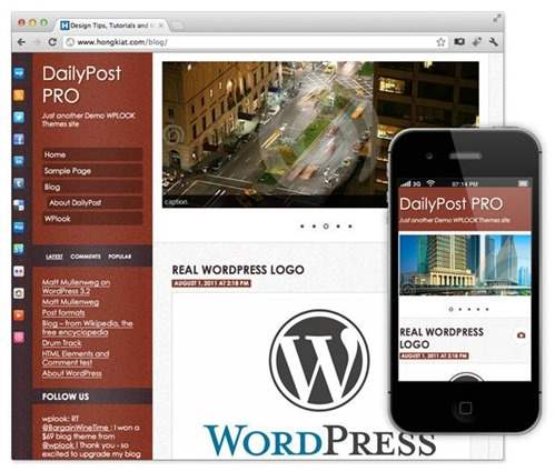 dailypost pro theme wordpress