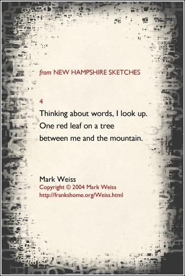 Weiss,Mark