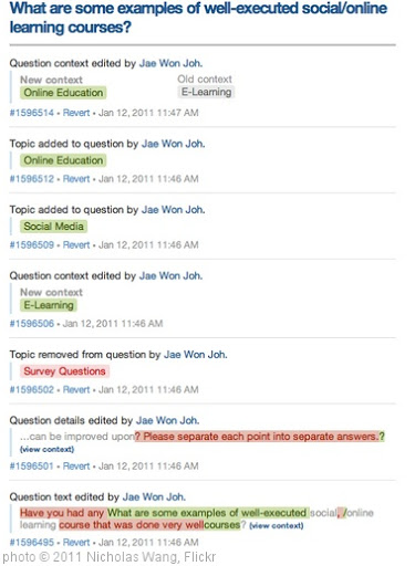 'Quora in 20 minutes' photo (c) 2011, Nicholas Wang - license: http://creativecommons.org/licenses/by-sa/2.0/