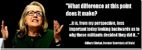 Hillary - What difference does it make...