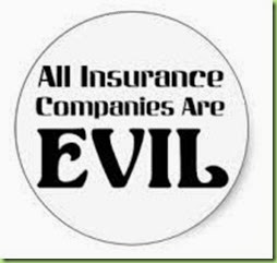 all insurance companies are evil