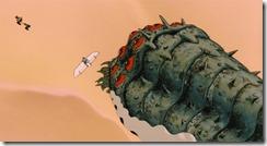 Nausicaa Rescuing Yupa from Ohm