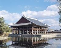 Gyeonghoeru Pavilion in Gyeongbokgung Palace