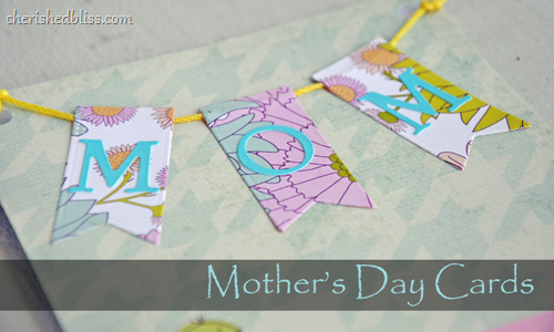 Mothers Day Cards PENNANTS