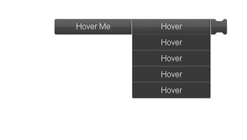 Menú desplegable con scroll CSS3