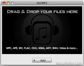 All2Mp3 - Convert flac to mp3 file - Mac OS X