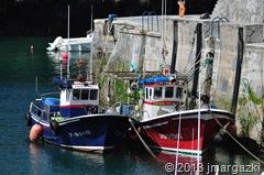 Barcos en el puerto de Mundaka